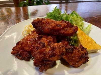 【単品】 鶏の唐揚げランチ